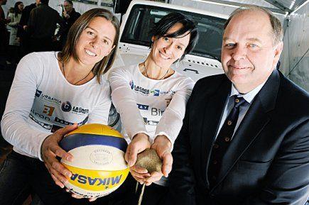 Championnat de volleyball à L'Externat St-Jean-Berchmans