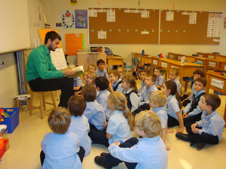 La lecture au coeur de la classe de monsieur Jean-François